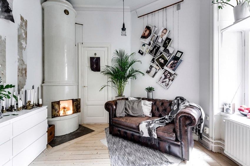 Интерьер маленькой квартиры-студии 17 м.