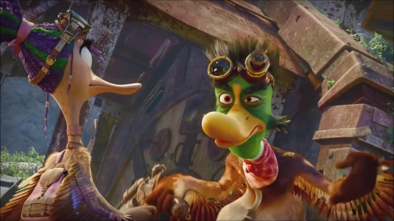 Крякнутые каникулы (2015) трейлер российского мультфильма 2