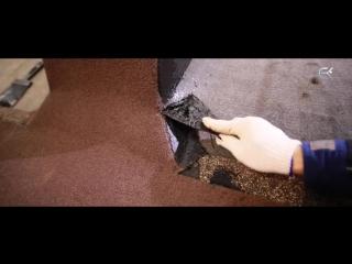 Монтаж гибкой черепицы ТЕХНОНИКОЛЬ SHINGLAS. Примыкание к трубе.(видеоинструкция)