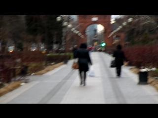 Краснодар( улица Красная ) иду к колоколу....