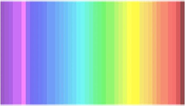 Только 25% людей видят все оттенки этого спектра (Re.)