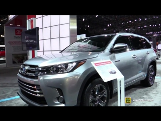 2017 Toyota Highlander Limited Hybrid - Exterior and Interior Walkaround - 2016 New York Auto Show