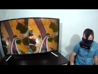 Обзор американских горок для vrbox. Реакция испытателя (игры гта 5 майнкрафт call of duty очки vr стрим порно hd лесной приколы