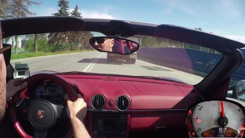 Porsche Boxster S Тест-драйв.Anton Avtoman. » Freewka.com - Смотреть онлайн в хорощем качестве