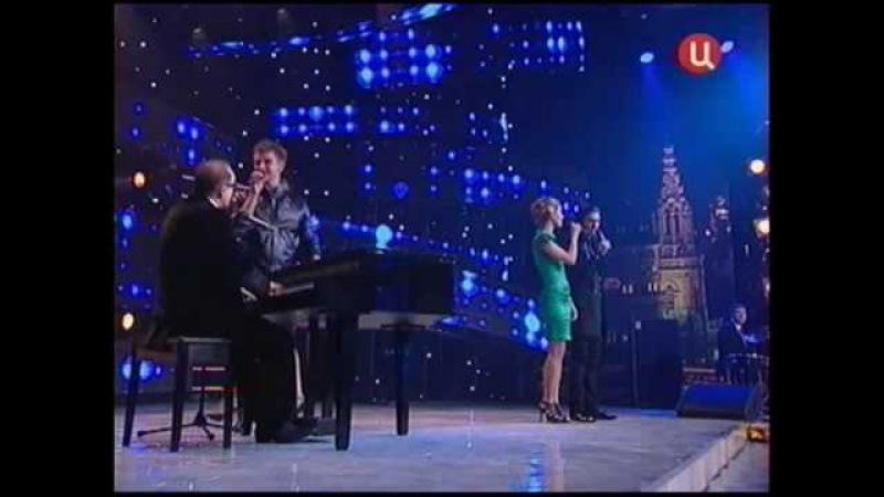 100115 Инь-Ян и Максим Дунаевский Ах, этот вечер