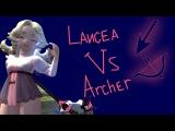 DRAGON NEST [DN] PVP LANCEA(33LVL) VS ARCHER(38LVL)