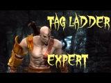 Mortal Kombat 9 - Kratos / Raiden Tag Ladder Expert [2014]