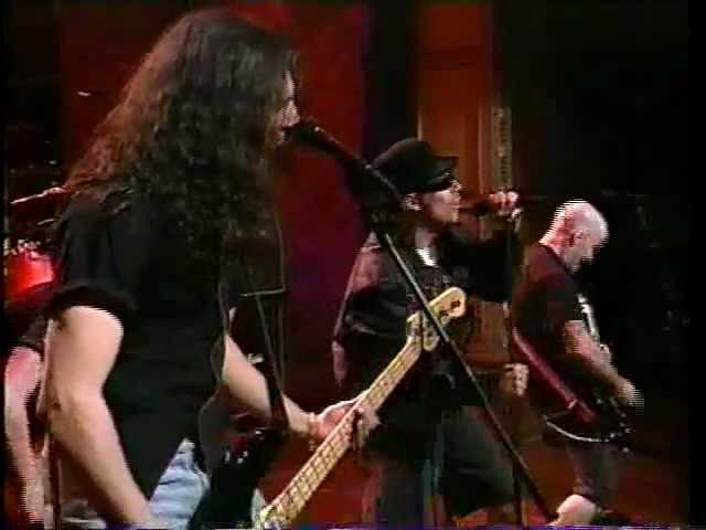 Anthrax on Conan O'Brien