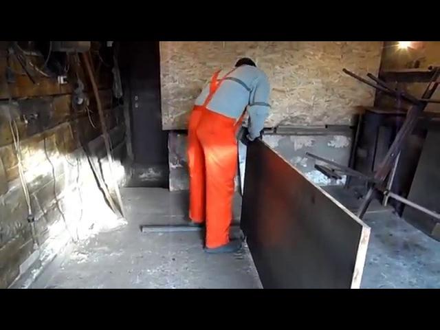Изготовление бронированной двери от А до Я ( Часть 2-я )