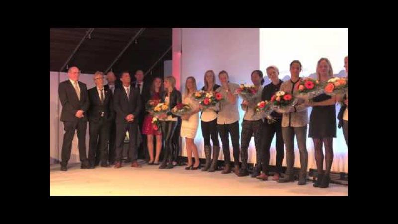 1. FFC Frankfurt wird als Frankfurts Mannschaft des Jahres 2015 geehrt