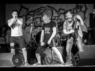Putrefaction - Beautiful Human Toilet (Spasm cover) (live Саратов, M.Place 19.03.2016)