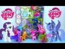 Обзор игрушек: Мой Маленький Пони Рарити и Принцесса Луна My Little Pony на русском