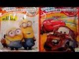 Сладости, Игры и Сюрпризы - Миньоны и Мульт Тачки. Sweets, Games + surprises - Minions and Cars.