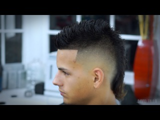 Modern Mullet Siete-Hawk Hairstyle -How to Faux Hawk Tutorial