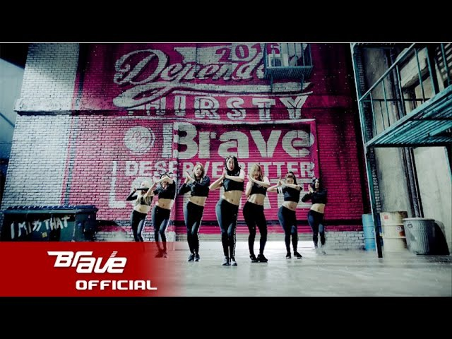 브레이브걸스 변했어 공식 뮤직 비디오 Brave Girls Deepened Official Music Video