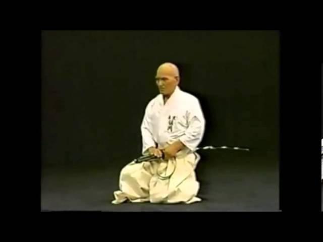 Hakuo Sagawa - Muso Shinden-ryu Okuiai Suwariwaza