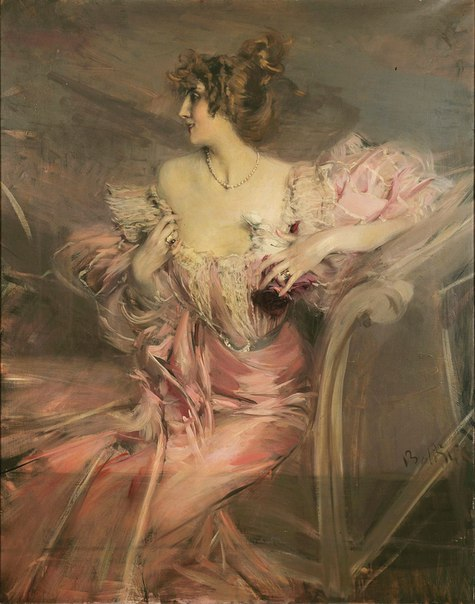 "Джованни Болдини ""Портрет Мадам де Флориан"", 1898"