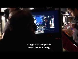 Поцелуй Гарри и Джинни - за кадром ( русские субтитры ).