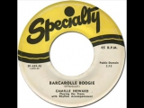 CAMILLE HOWARD - Barcarolle Boogie Specialty 449 1952