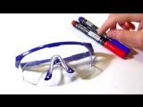Как самому сделать 3D очки своими руками