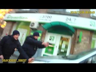 Новая полиция Украины в действии!