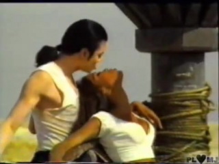 Michael Jackson Naomi Campbell Making Of In the closet hot scenes