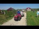 Покатушки в на тракторе))