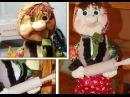 Кукла из капрона Теща ❀ Make Pantyhose Doll mother-in-law