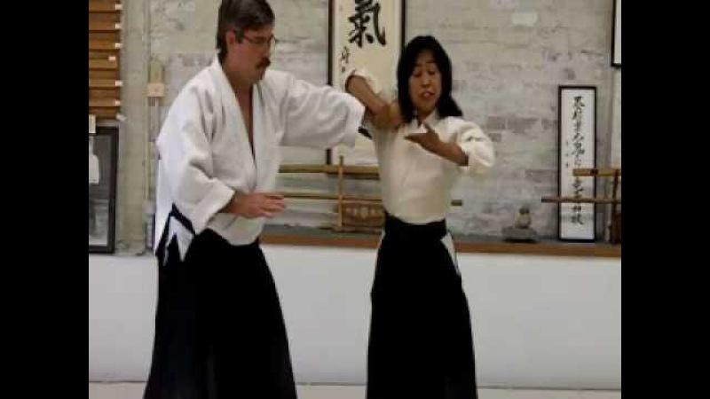 Aikido martial arts Nikkyo Ginny Breeland