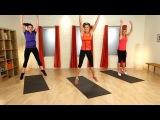 Жиросжигающая интервальная тренировка Табата. Tabata Fat Blasting Workout | Interval Training | Class FitSugar