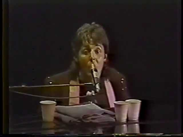 Paul McCartney Live In Kingdome, Seattle, USA (Thursday 10th June 1976)