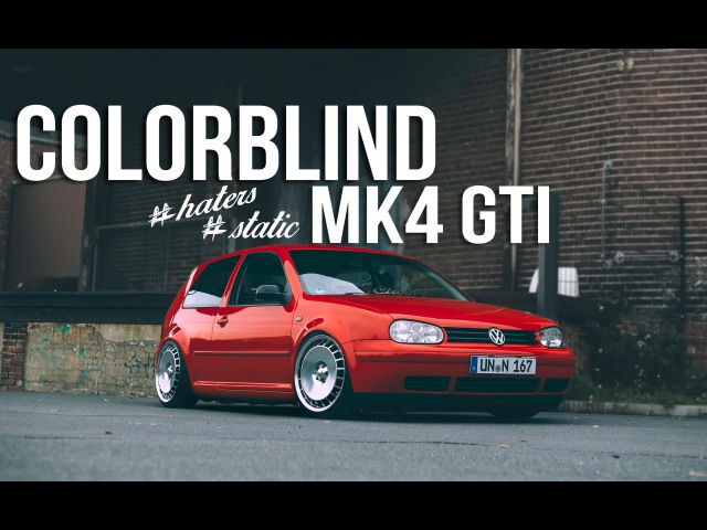 VW Golf MK4 GTI 1.8T - 2k15 by Colorblindvisuals