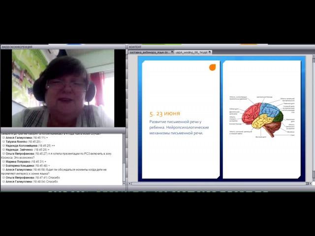 Зона языка в монтессори-группе 3-6 (вводная лекция)