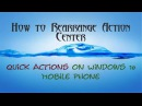 How to rearrange quick actions on windows 10 mobile phone ।।Windows phone Troubleshooting02