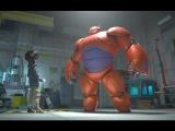 Город героев - Дублированный Тизер (Big Hero 6) 2014 Мультфильм; США