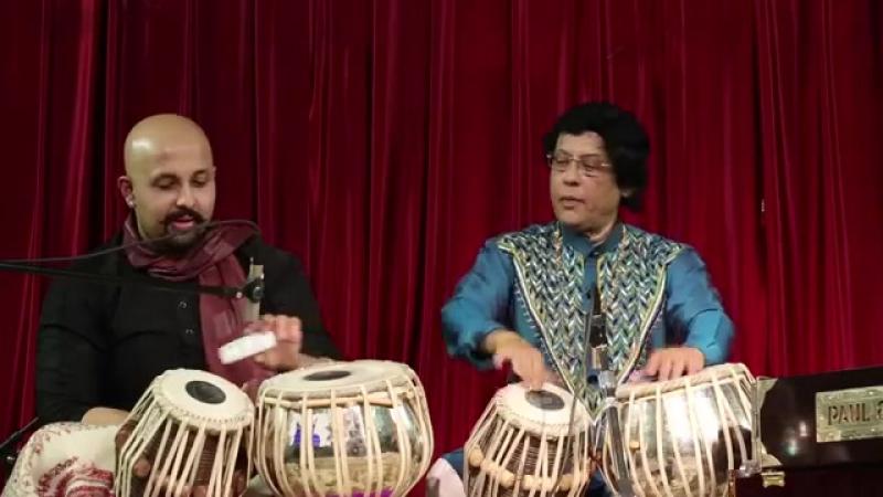 Pandit Anindo Chatterjee Shri Anubrata Chatterjee Tabla duet 2015