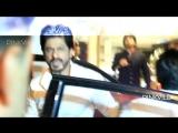 SRK, Гаури Кхан и Фархан Ахтар на вечеринке у Саифа Али Кхана и Карины Капур Кхан (апрель 2016)