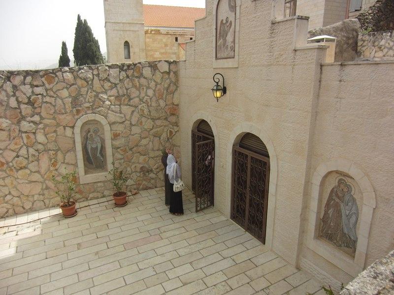 Пещерный храм Иоанна Крестителя-место рождения Иоанна Крестителя-Горненский монастырь