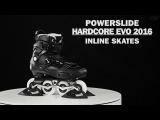 Powerslide Hardcore Evo 2016 Freestyle skates