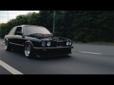 BMW E30 with turbod M50 in 4k I Love Bass