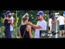 Leonardo DiCaprio comforts his model girlfriend Nina Agdal following car accident