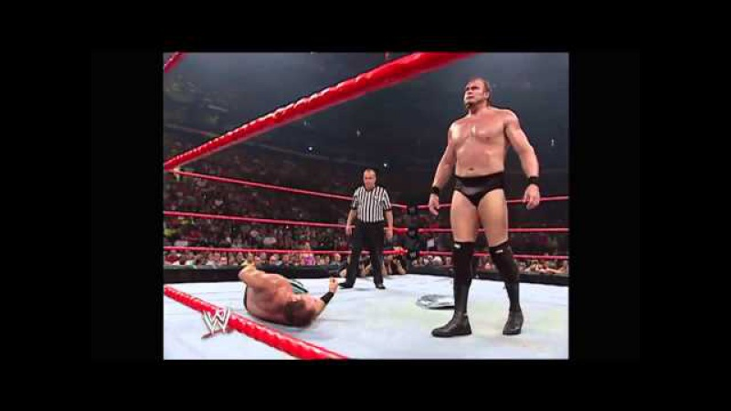Chris Benoit vs. Snitsky: Raw, June 6, 2005