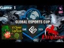 4CL vs Team Empire 1 (bo3) (Ru) | Game Show Global Lan Finals (05.12.2015) Dota 2