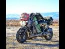 Honda Ruckus Scooter Touring in the Utah Desert Sun Tunnels, Devil's Playground, Ghost Towns