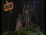 Beetlejuice in the graveyard model