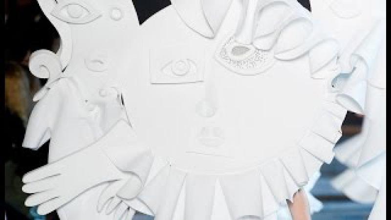 Viktor Rolf Spring 2016 Couture PFW » Freewka.com - Смотреть онлайн в хорощем качестве