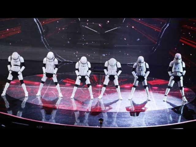 MOST SHOCKING Let the force be with Boogie Storm - Britain's Got Talent 2016 - Video Dailymotion