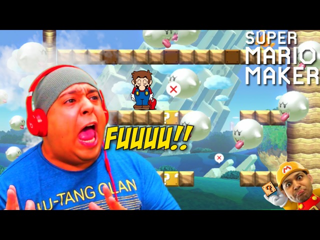 THIS THAT BULLSHT!! [SUPER MARIO MAKER] [48]
