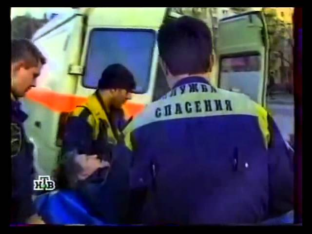 Заставка программы Служба спасения НТВ 12 09 1999 19 07 2003