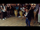 Yoannis Tamayo  Columbia jam in salsa-party S.Petersburg 2016
